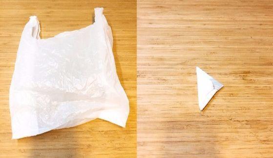 부엌에 평화 불러오는 놀라운 비닐봉지