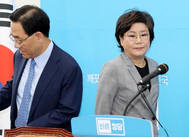 '불안한 동거'…위태위태했던 바른정당