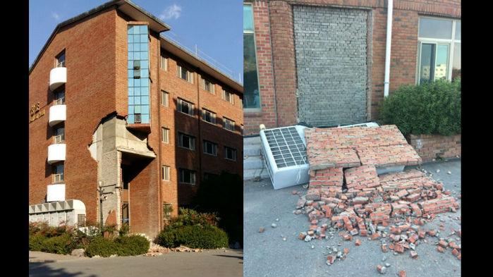 포항 규모 5.5 지진…근처 대학교
