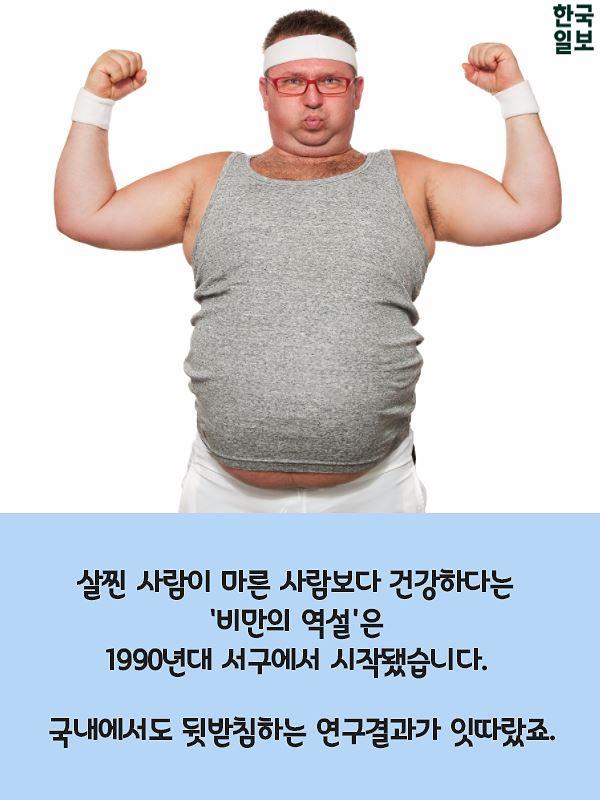 """""""뚱뚱해도 건강하다"""" 사실일까요?"""