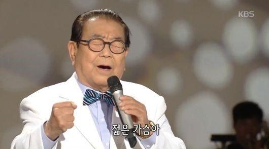 '90세 예능인' 송해, '가요무대'