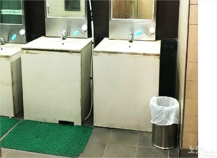휴지통 없는 화장실, 진짜 더 더러워