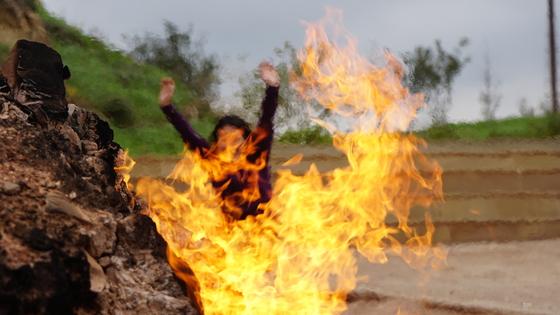 가는 곳마다 활활… 괜히 '불의 땅'