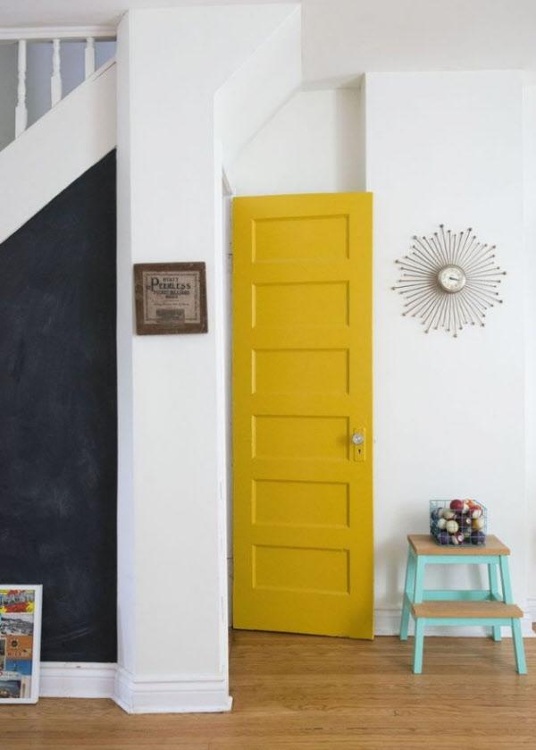 집안 곳곳에 노란색 포인트 주면 나타