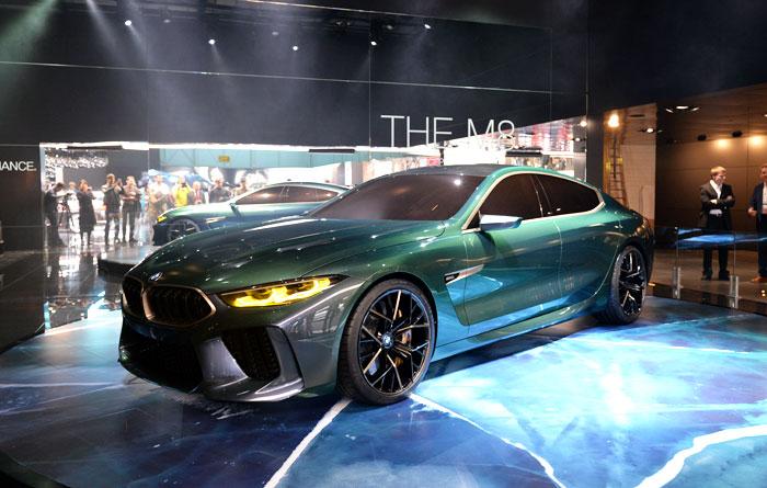BMW, 콘셉트 'M8 그란 쿠페'