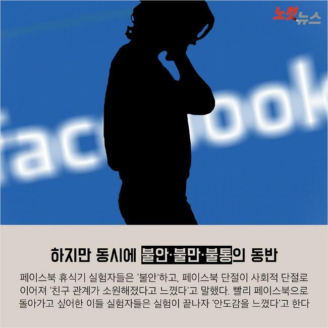 페이스북을 끊은 뒤 놀라운 변화
