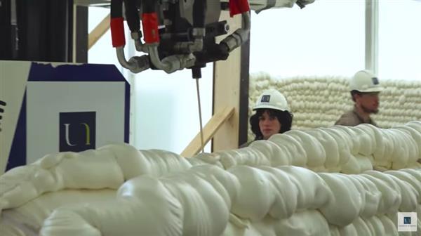 '3D 프린터'로 건설한 세계최초 공