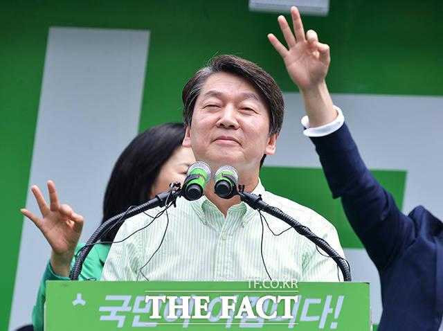 안철수, '이유미 폭탄' 잊고 드루킹