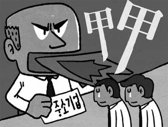 """""""대기업은 보도라도 되지… 中企사장"""