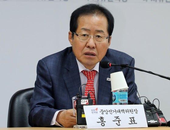 """홍준표 """"'노무현 자살'이라고 해서"""