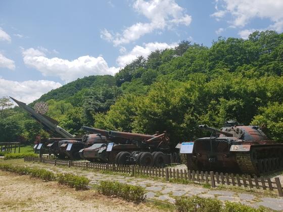 금강산 가는 옛길 양구 두타연 풍경