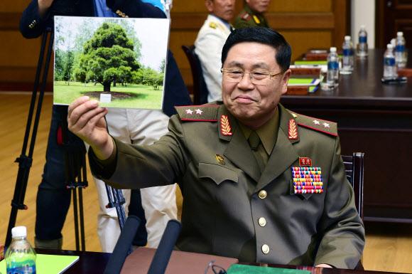 남북장성급회담 북측 대표, 갑자기 소