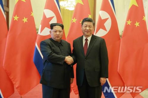 김정은 전격 방중… 시진핑과 세 번째