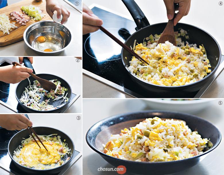 찬밥은 레인지에 돌려 따뜻하게… 식용