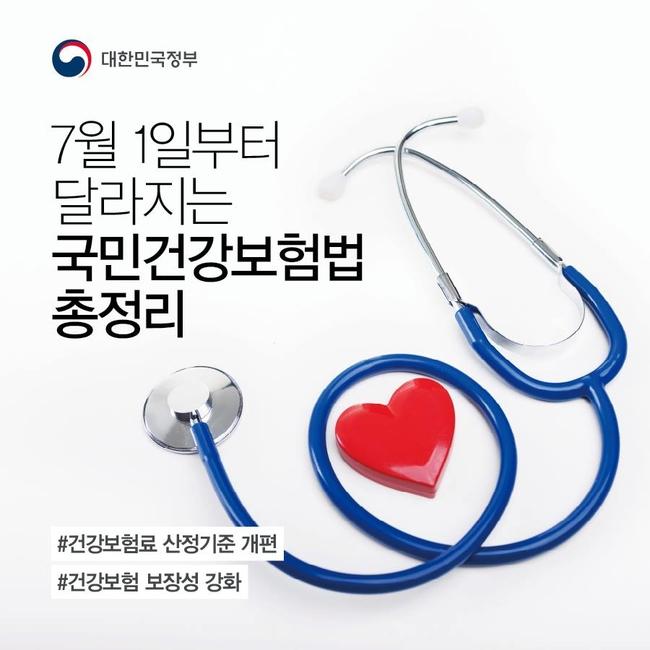 7월1일부터 달라지는 국민건강보험법