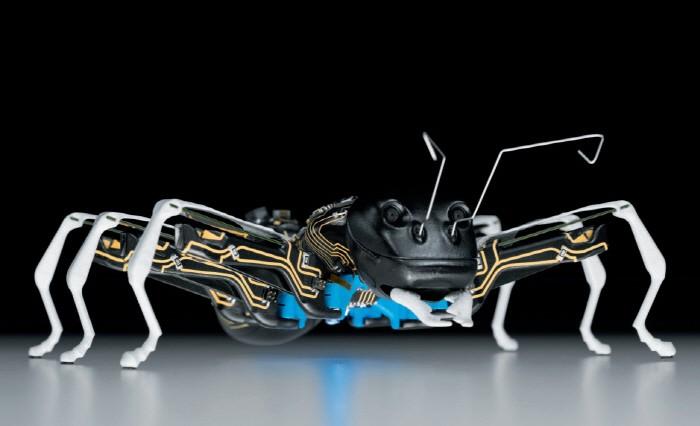 개미·나비·캥거루… 독특한 로봇들