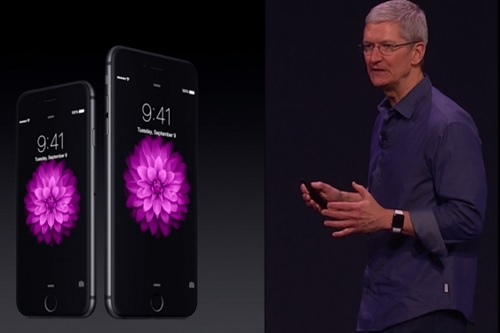 팀쿡, '3D터치'로 애플의 아이폰6