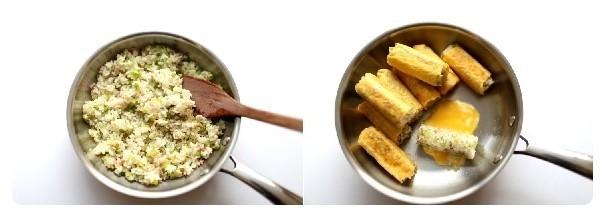 베이컨 요리 세가지