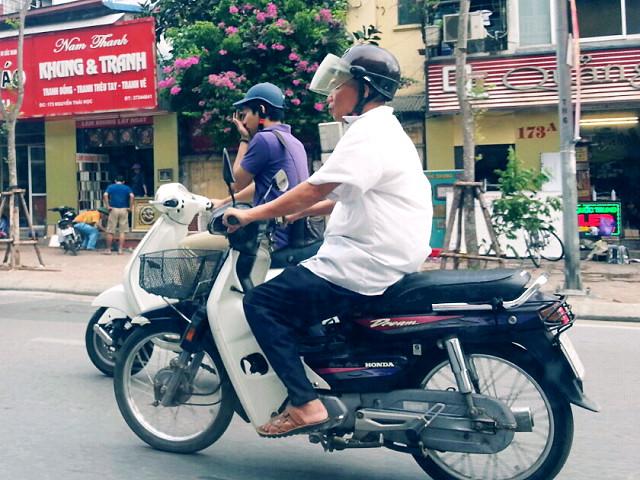 베트남의 2015 F/W 오토바이 패