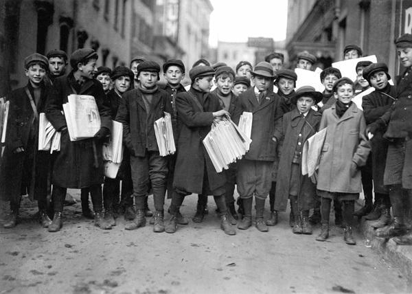 1899년, 뉴욕을 멈춘 신문팔이 소
