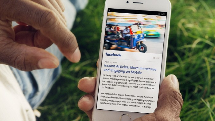 페이스북 트렌드 알고리즘의 실수