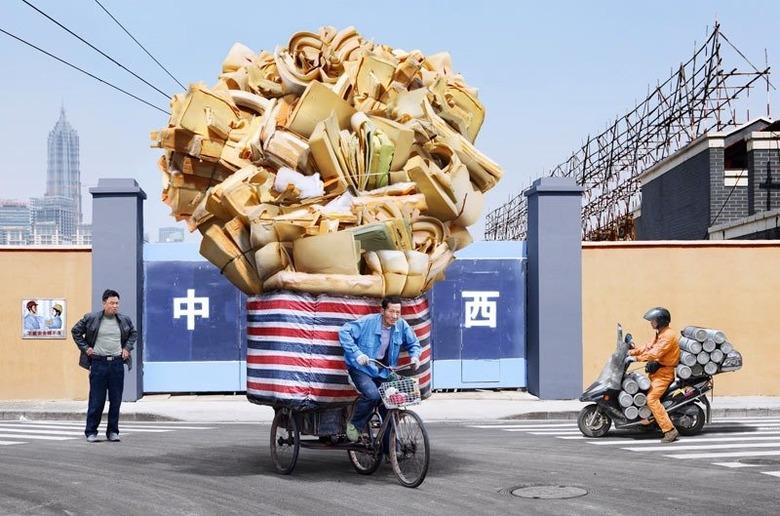 합성 논란을 불러일으키는 중국의 흔한