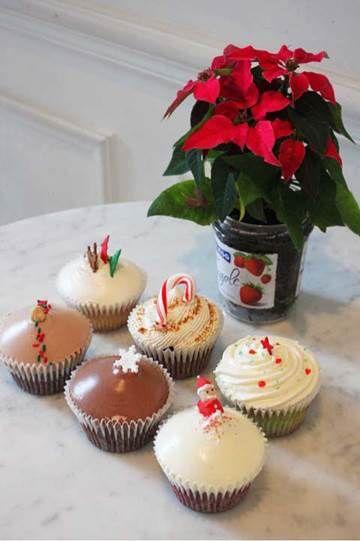 달콤한 크리스마스를 위한 수제 케이크