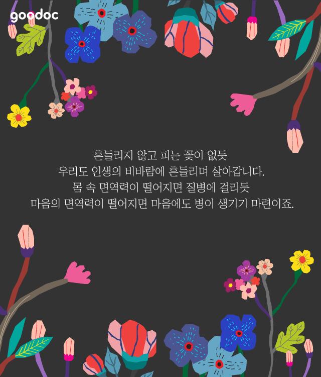 흔들리며 피는 꽃들에게