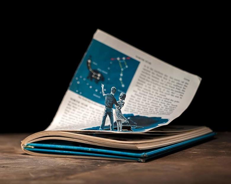 새 생명을 얻은 책 속 인물들