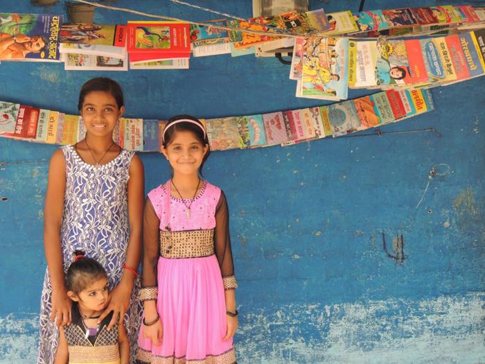 인도의 9살짜리 소녀가 직접 도서관을