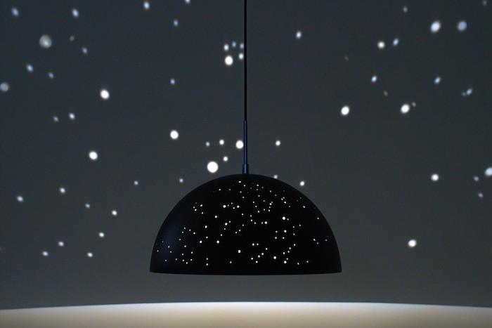 천장에 밤하늘을 만든다면…