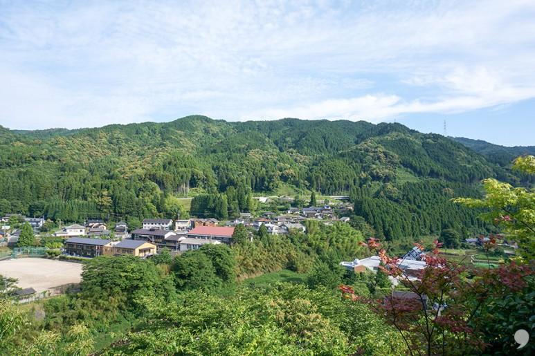 초록을 즐기는 후루유 온천 '스기노야
