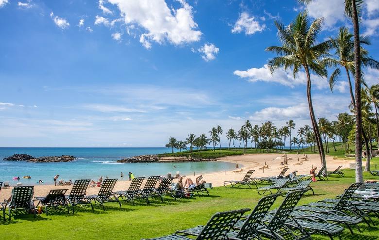 이제 하와이에서 선크림을 바를 수 없