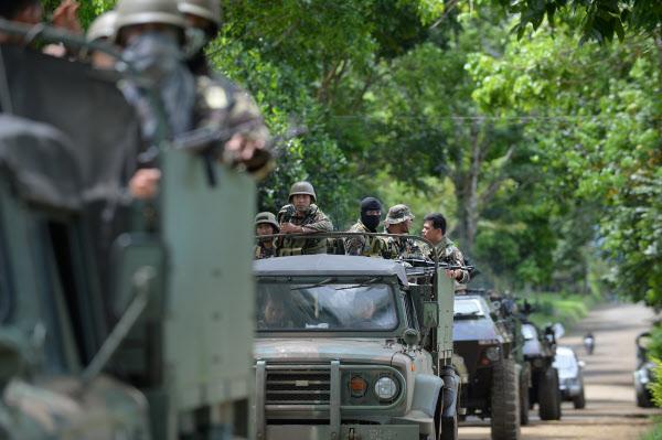 필리핀 계엄령 소도시 마라위는 '전쟁