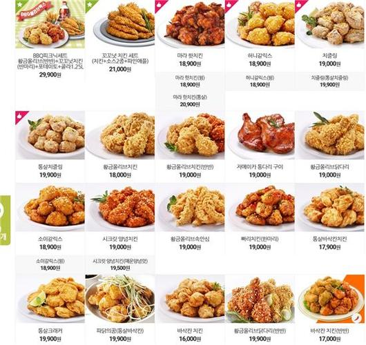 치킨값 도미노 인상…셋트 시키면 3만
