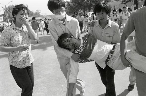 6월항쟁 이브, 역사를 뒤바꾼 사진