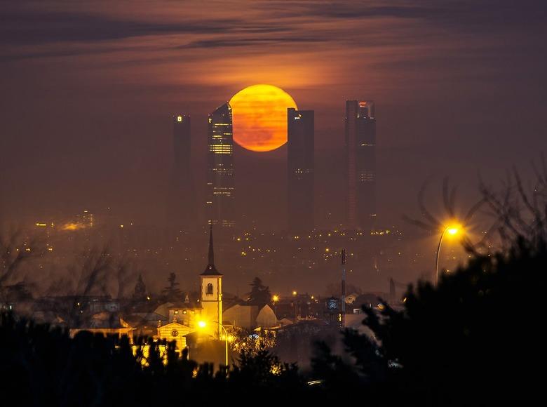 세계 최고의 야경 사진을 뽑는 '국제