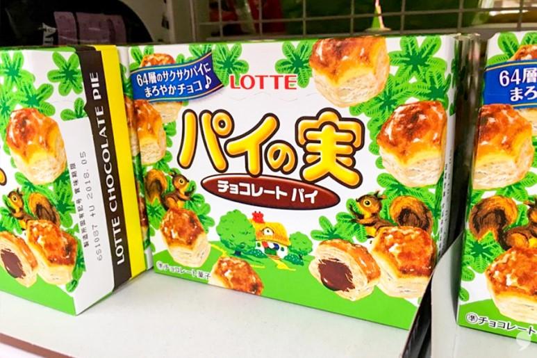 한국 과자랑 너무 닮은 일본 과자 모