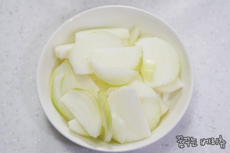 달콤하고 부드러운 단호박스프 만드는