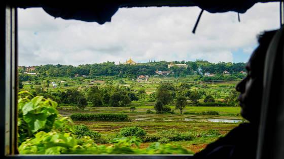 스위스 못지않아! 미얀마 기차 여행