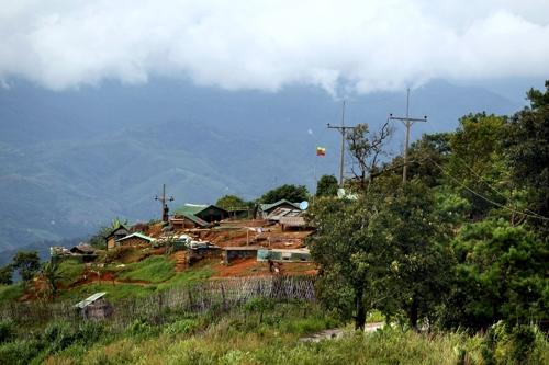 태국의 '알프스 마을' 도이퉁