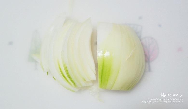 대패삼겹살 영양부추 샐러드