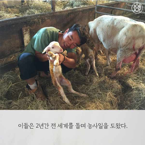 청년 농부들의 무일푼 세계여행