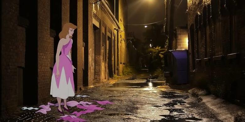 디즈니 주인공들의 불행한 미래 UNH