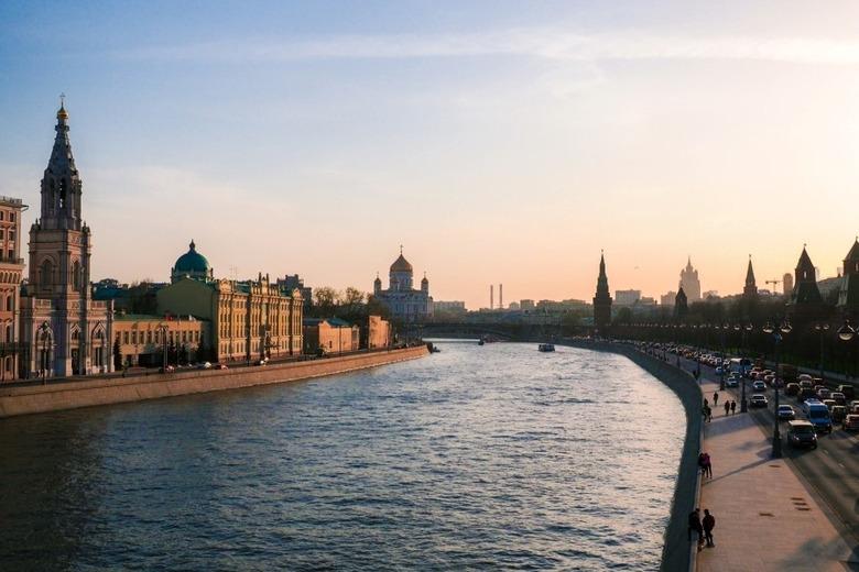 긁지 않은 복권 러시아 모스크바의 夜