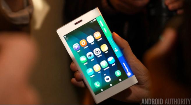 삼성의 접는 스마트폰(Galaxy X
