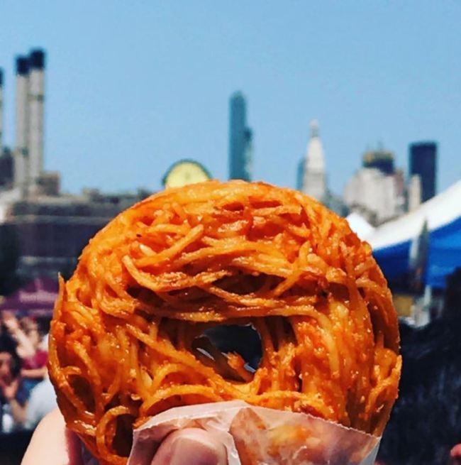 SNS달군 뉴욕 명물 도넛, '이것'