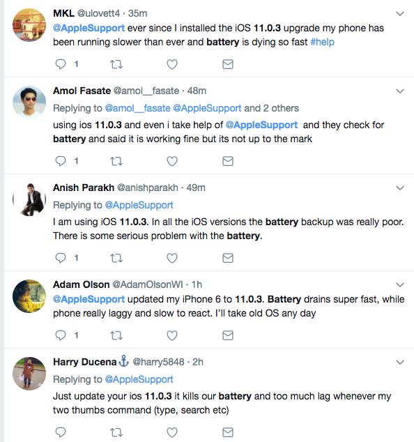 iOS11 오류, 언제 해결될까? 아
