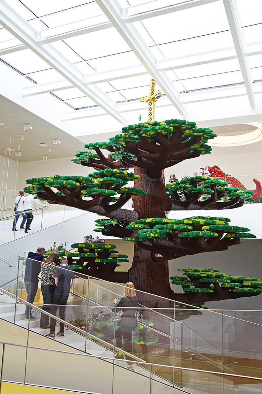 21개의 큐브로 이뤄진 다채로운 레고