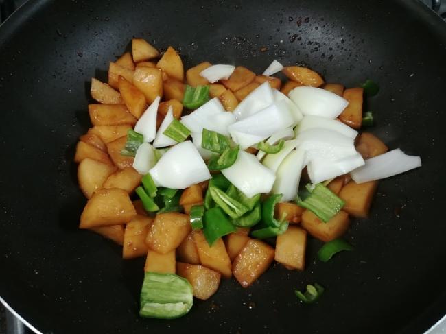 풋고추 감자조림 만들기